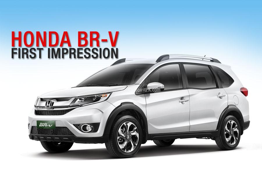 Honda BR-V First Impressions 1