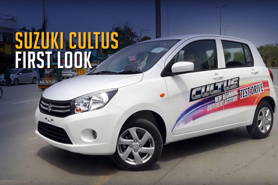 Suzuki New Cultus (Celerio) First look and Test Drive 100