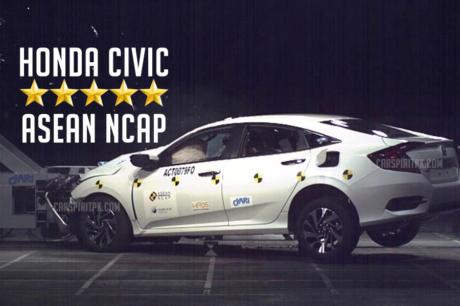 5 Star ASEAN NCAP rating for 10th Generation Honda Civic 13