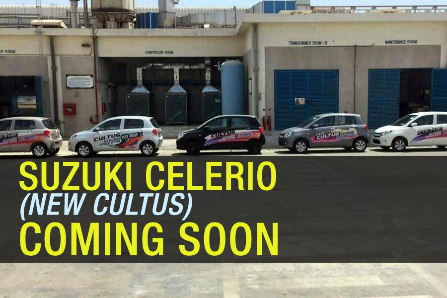 Pak Suzuki Celerio (New Cultus) to Launch Soon 12