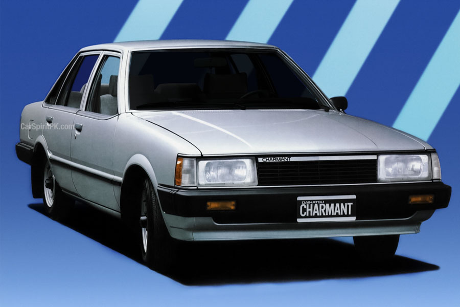 Daihatsu Charmant- A Reliable Sedan of the 1980s 1