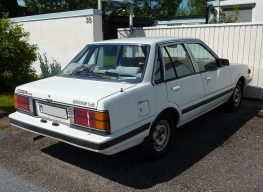 Daihatsu Charmant- A Reliable Sedan of the 1980s 5