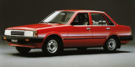 Daihatsu Charmant- A Reliable Sedan of the 1980s 8
