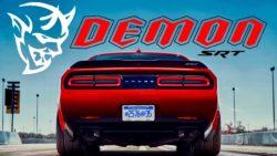 The 840 HP Dodge Challenger SRT Demon 2018 9