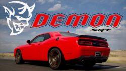 The 840 HP Dodge Challenger SRT Demon 2018 8