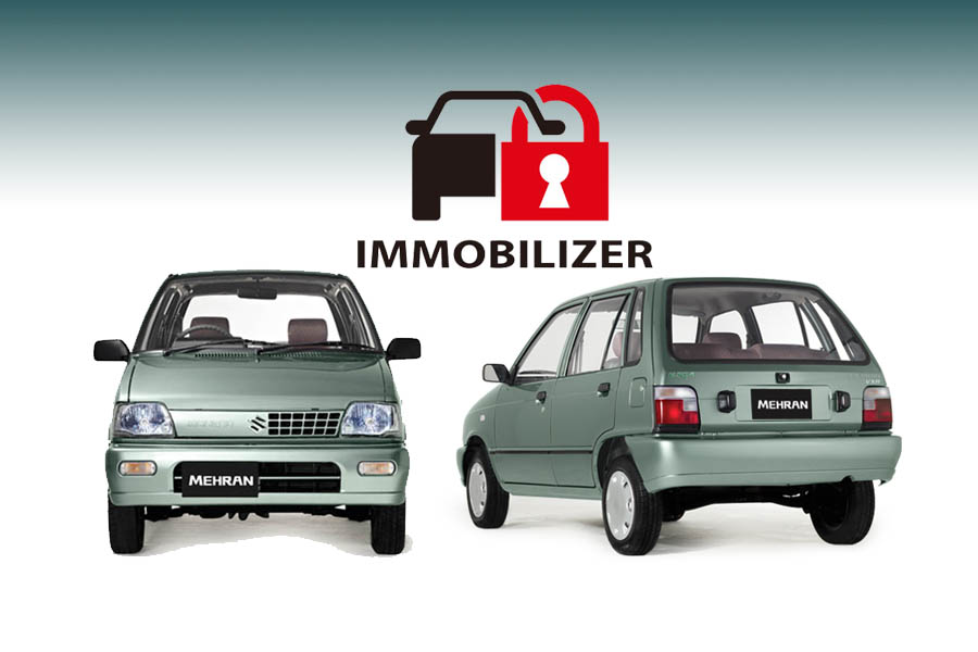 Suzuki Mehran Now Comes With Immobilizer 34
