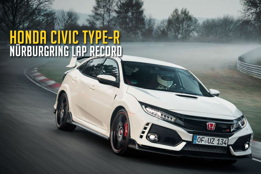 2017 Honda Civic Type R Captures Nurburgring Lap Record 1