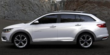 FAW Will Display a VW Inspired Wagon at Shanghai Auto Show 3