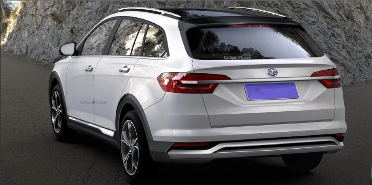 FAW Will Display a VW Inspired Wagon at Shanghai Auto Show 4