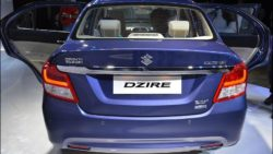 2017 Maruti Dzire Launched in India Priced from INR 5.45 lac 8
