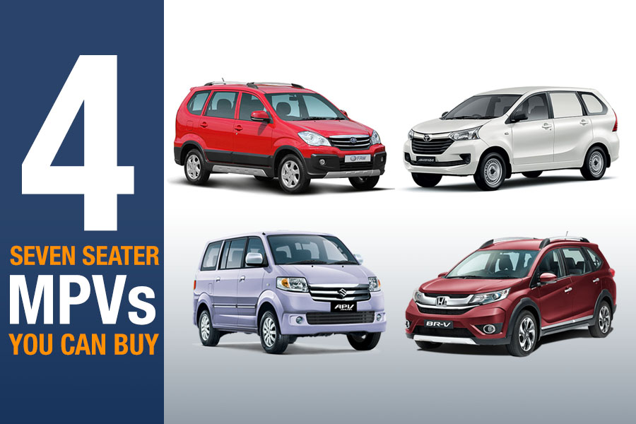 Four 7 Seater MPVs You Can Buy 1