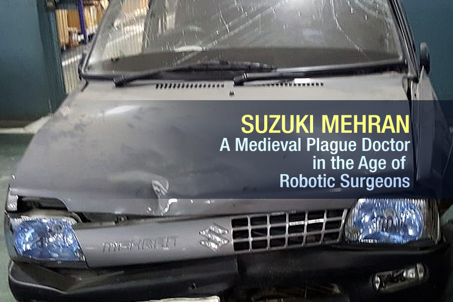 Suzuki Mehran: A Medieval Plague Doctor in the Age of Robotic Surgeons 1
