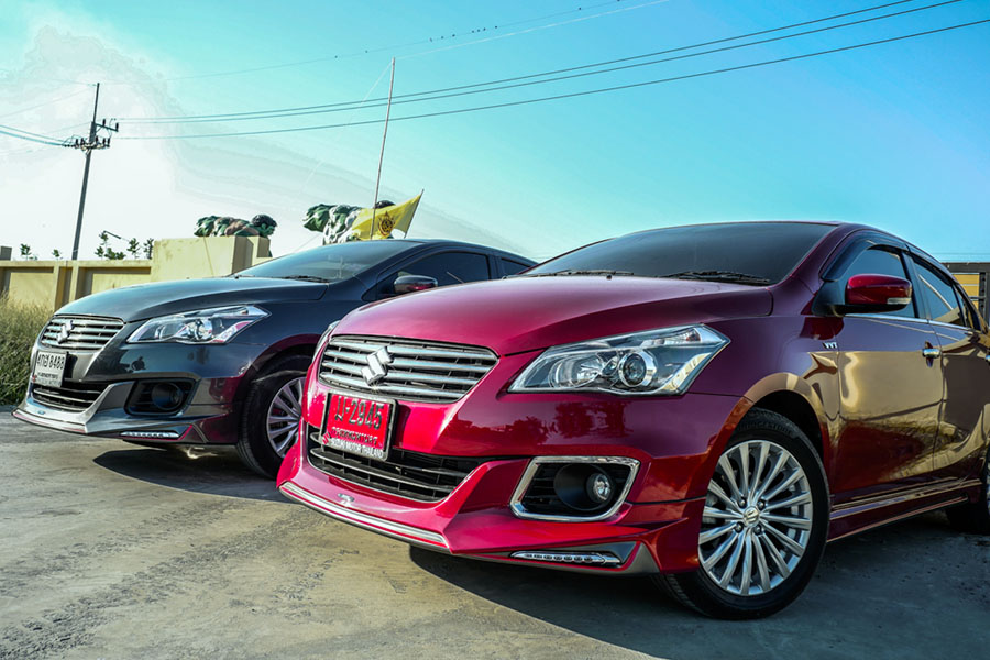 Suzuki Ciaz Gets Amotriz Body Kit in Thailand- Facelift to Arrive Soon 1