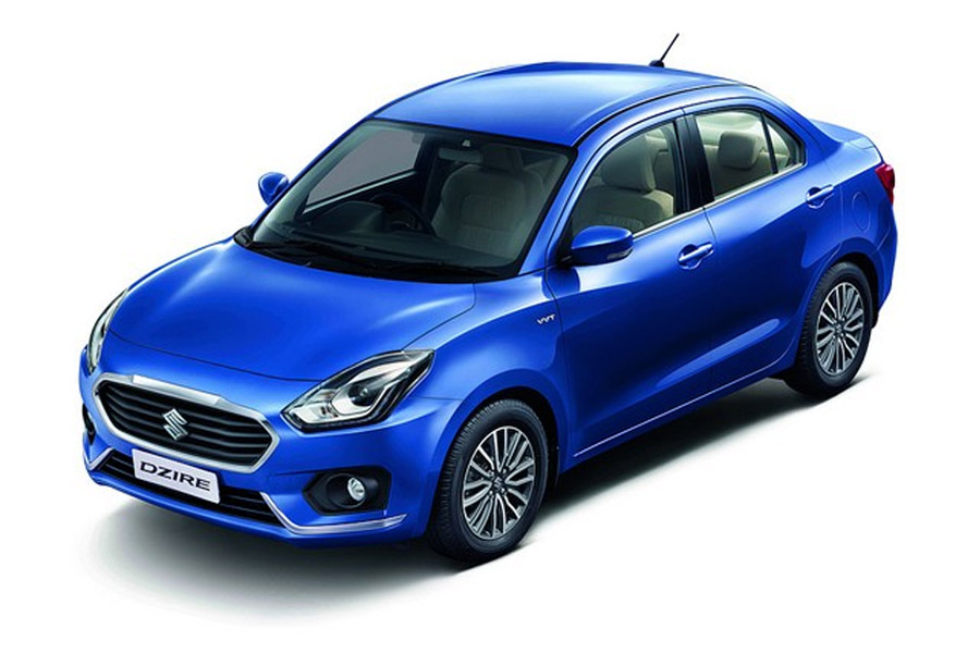 2017 Maruti Dzire Launched in India Priced from INR 5.45 lac 1