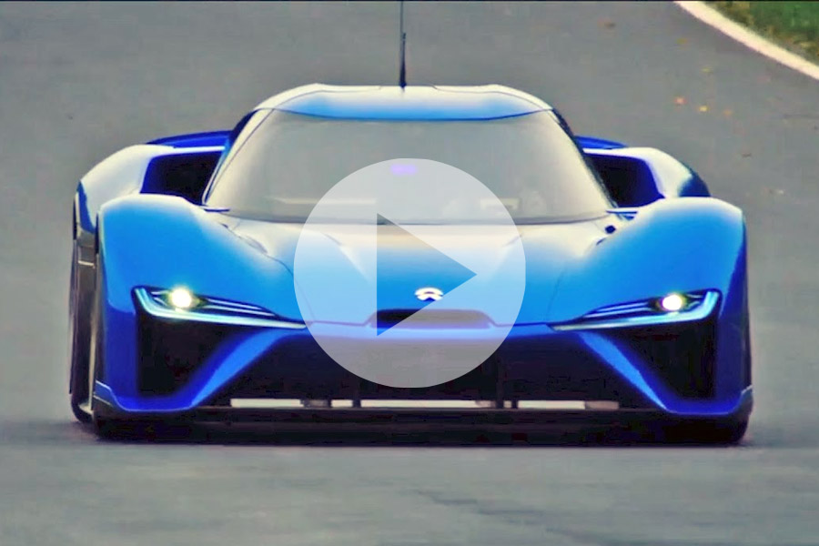 Video: Watch the Brutal Acceleration of the World's Fastest NIO EP9 1