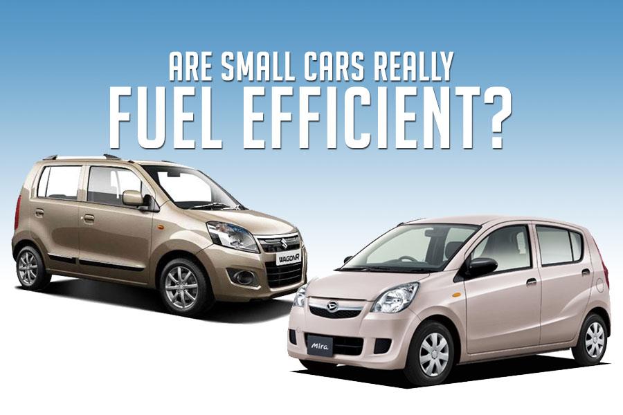 Smaller Cars Aren't Always Fuel-Efficient 1