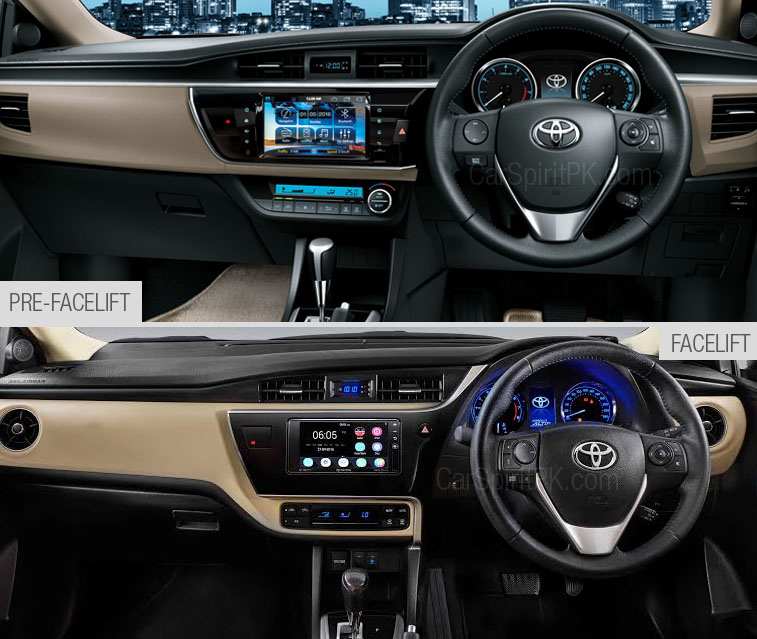 2017 Toyota Corolla- New (Facelift) vs Old 3