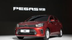 KIA Premiered the Pegas Sedan at Shanghai Auto Show 3