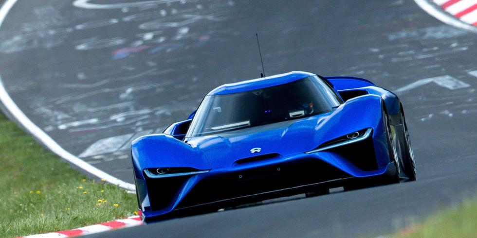 All-Electric NIO EP9 Beats Lamborghini Huracan Performante's Nurburgring Time 6