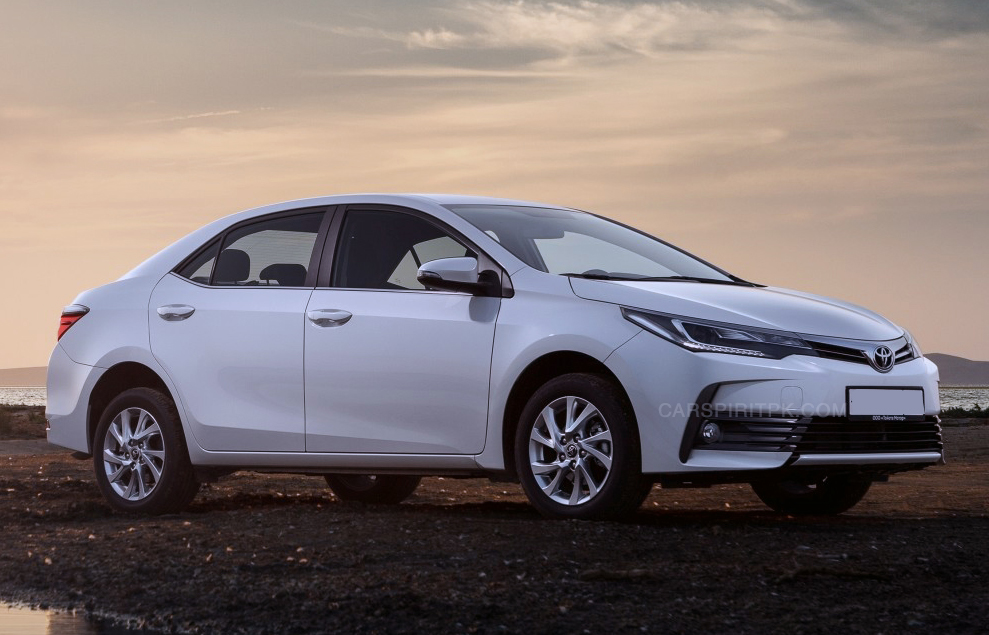 Toyota Corolla 1.3L Prices Revised- Facelift to Arrive in August 2017 1