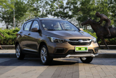FAW D60 SUV Facelift Launched in China 2