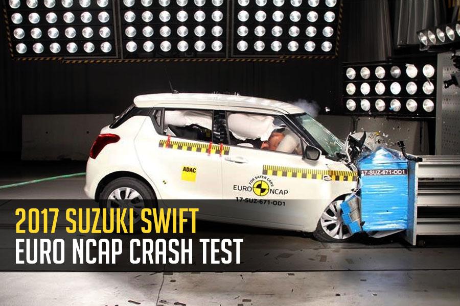 2017 Suzuki Swift Earns 3 Stars in Euro NCAP Crash Test 1