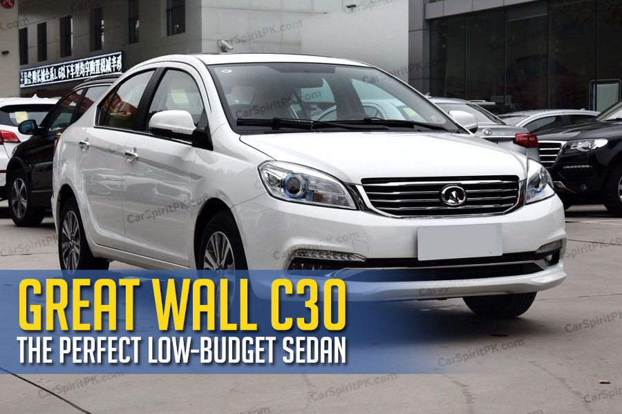 Great Wall C30- The Perfect Low-Budget Sedan 1