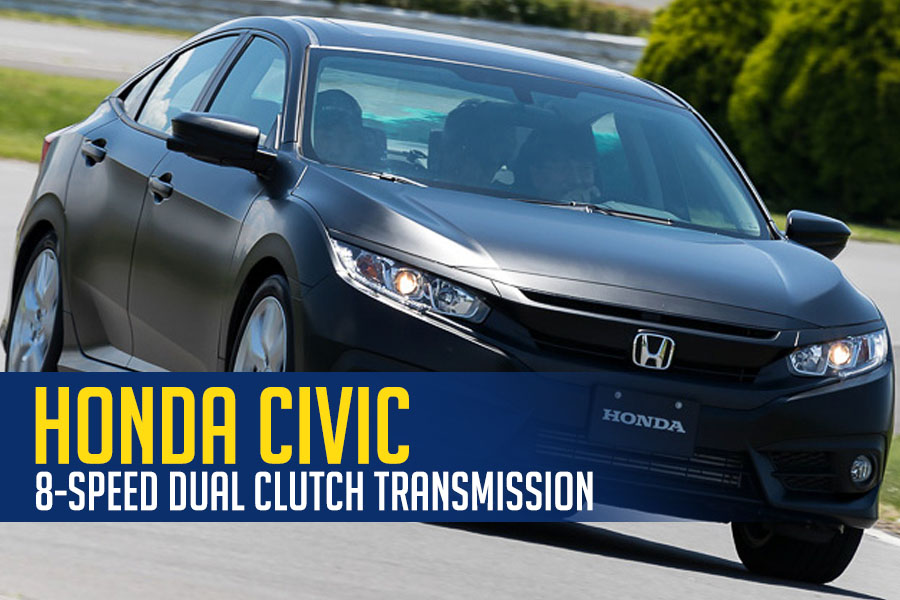 Honda Civic to Get 8-speed Dual-Clutch Transmission 6