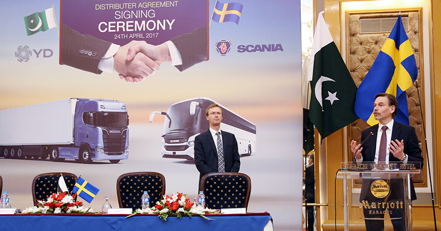 Swedish Auto Giant Scania To Sell Heavy Vehicles in Pakistan 3