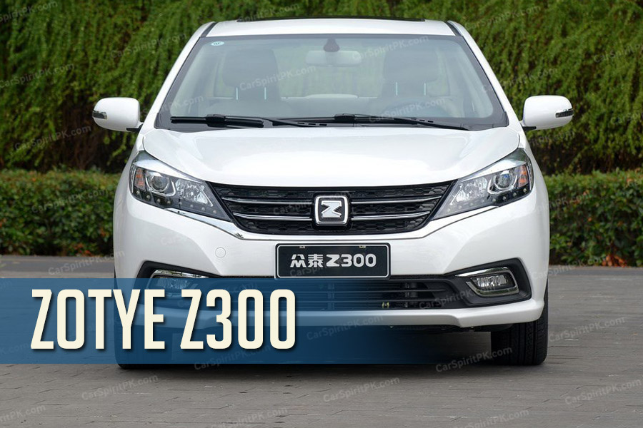 The Zotye Z300 Sedan 5