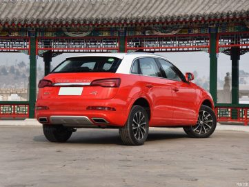 The Zotye SR7 SUV 21