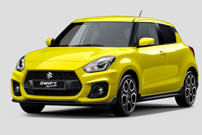 2018-Suzuki-Swift-Sport-front-three-quarters