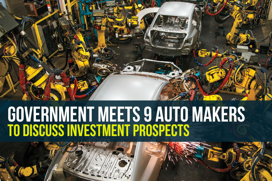 Government Meets 9 Auto Makers to Discuss Investment Prospects 1