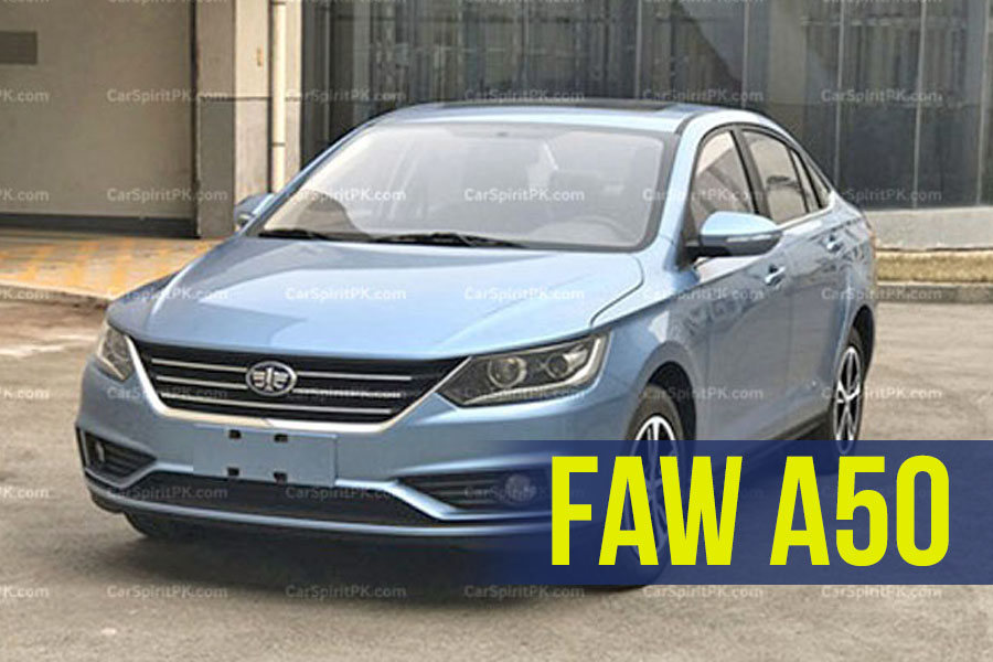 FAW A50 Ready To Be Launched in China 1