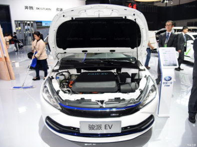 Pure Electric FAW A70E Will Be Launched in China in August 3