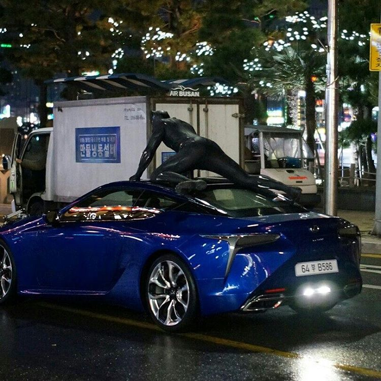 Lexus LC 500 To Be Showcased In Black Panther Movie