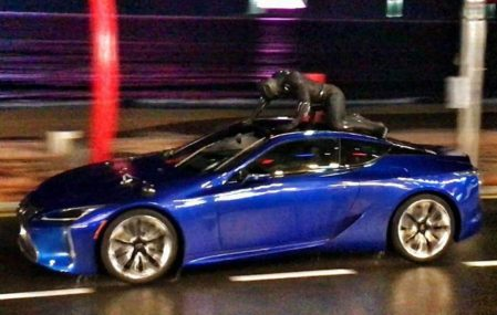 Lexus LC 500 To Be Showcased in Black Panther Movie 2