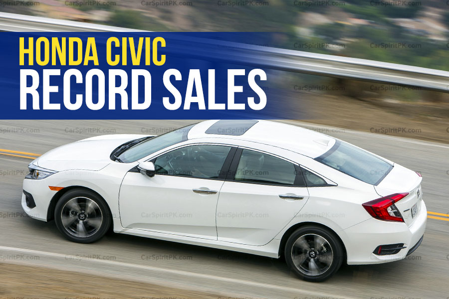 Record Sales for Honda Civic In A Single Year 1