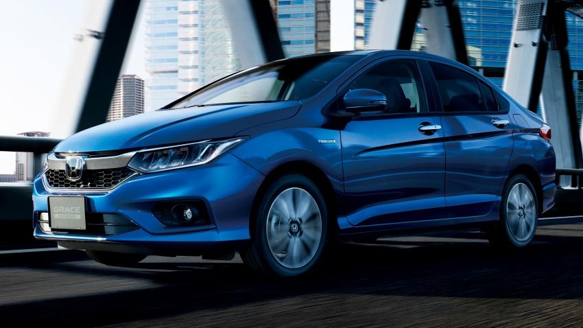 Honda Grace Facelift Launched in Japan with Honda Sensing Suite 1