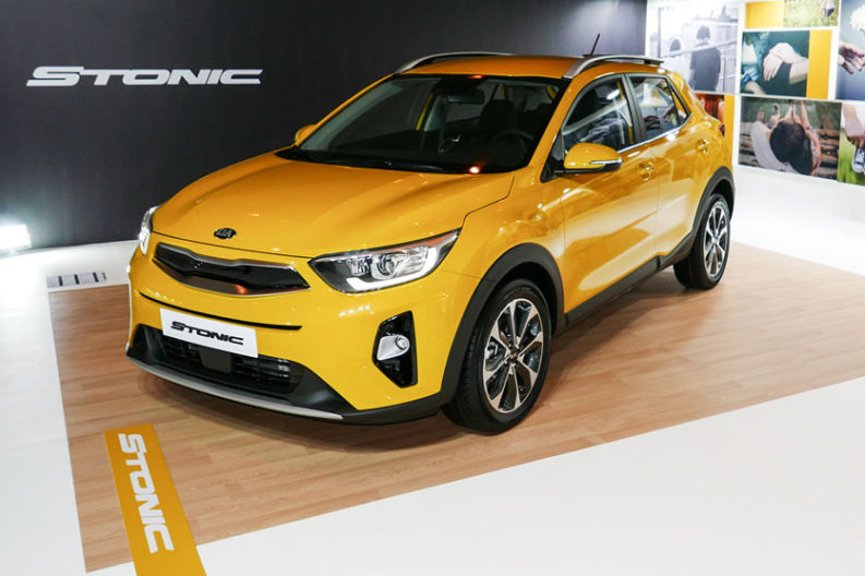 KIA Reveals the All-New Stonic Compact Crossover 1