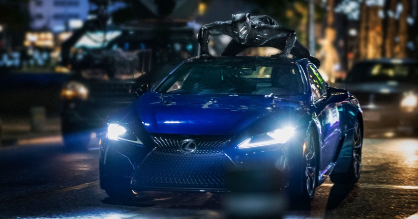 Lexus LC 500 To Be Showcased in Black Panther Movie 1