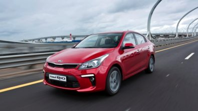 2017 KIA Rio Sedan Revealed in Russia 2