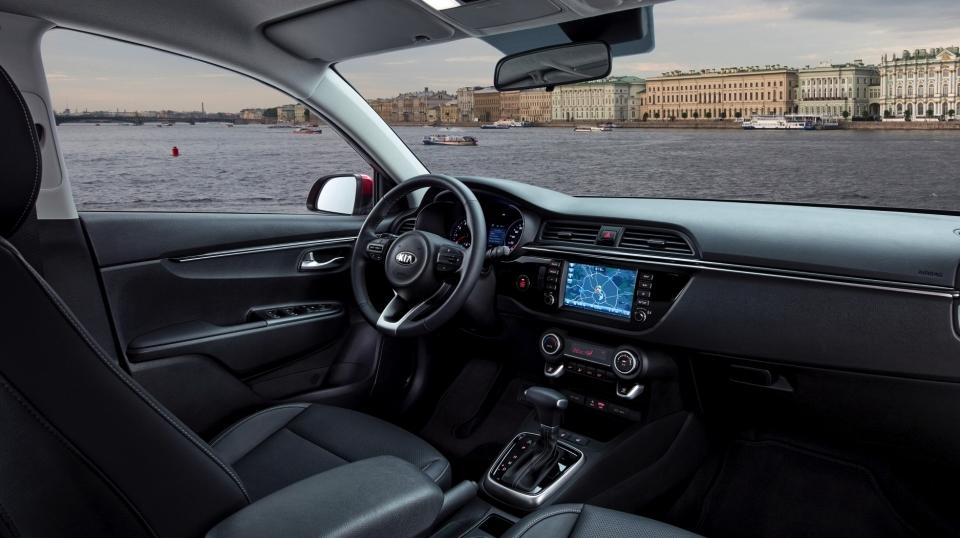 2017 KIA Rio Sedan Revealed in Russia 1