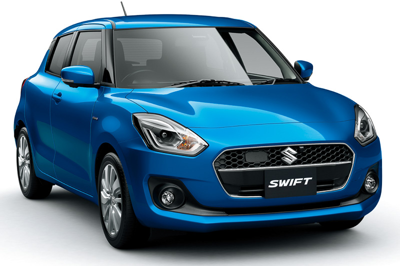 Suzuki-Swift-Hybrid-launched-front-blue