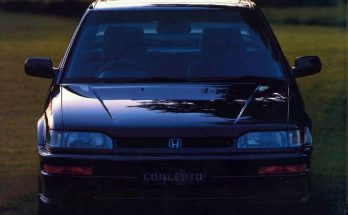 From the Pages of Past: Honda Concerto 4