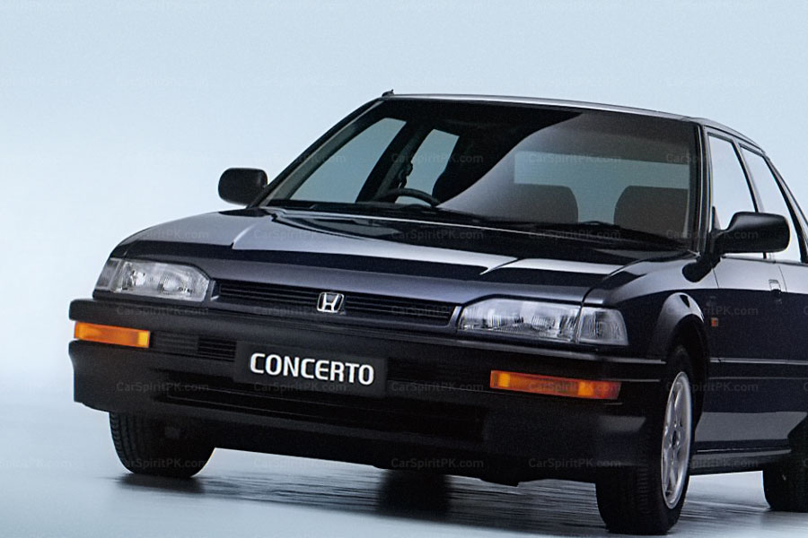 From the Pages of Past: Honda Concerto 14