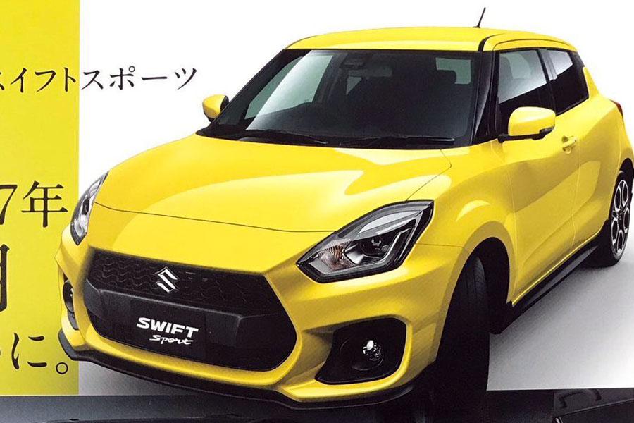 All New Suzuki Swift Sport Catalogue Leaked 11