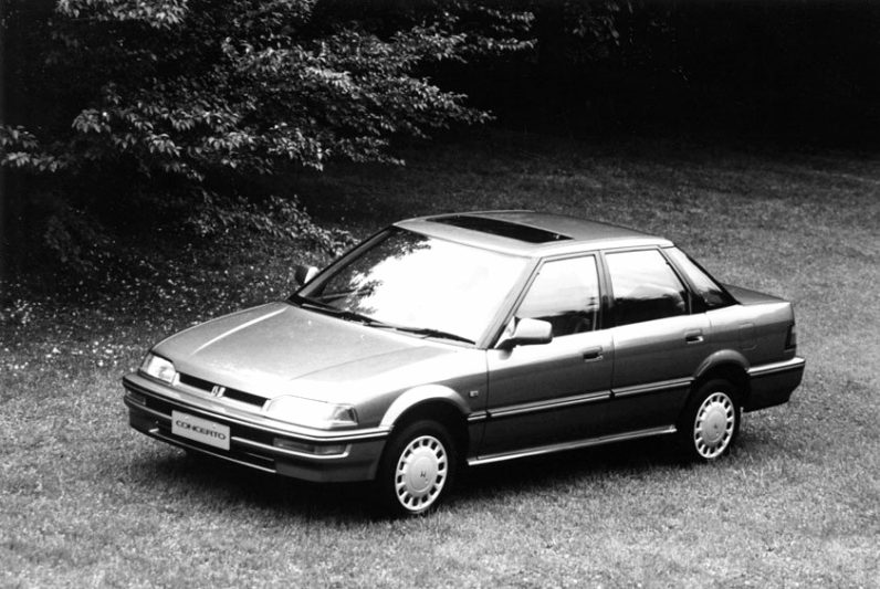 From the Pages of Past: Honda Concerto 10