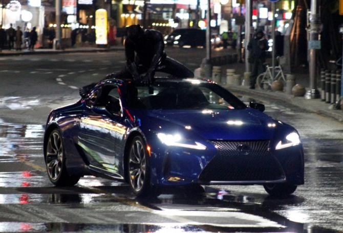 Lexus LC 500 To Be Showcased in Black Panther Movie 5