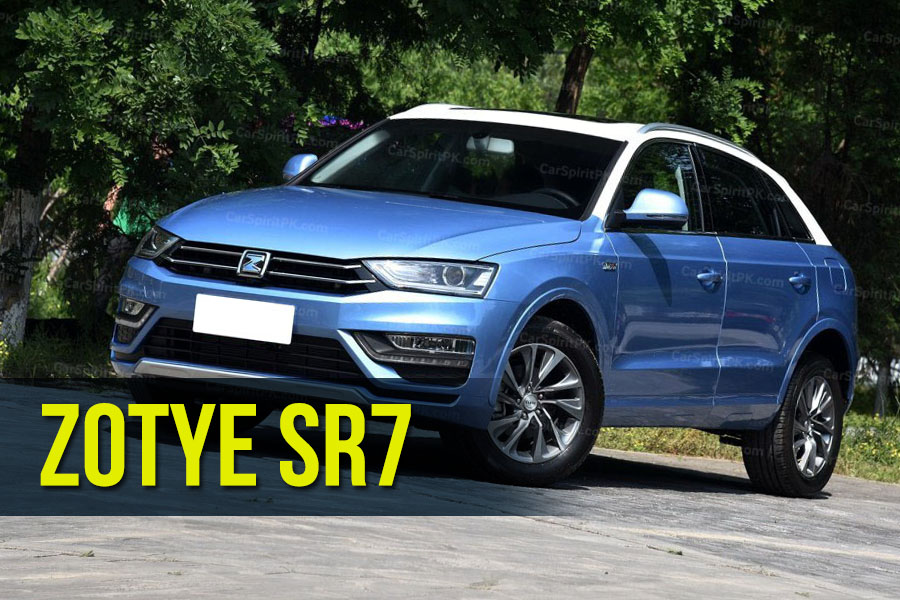 The Zotye SR7 SUV 1